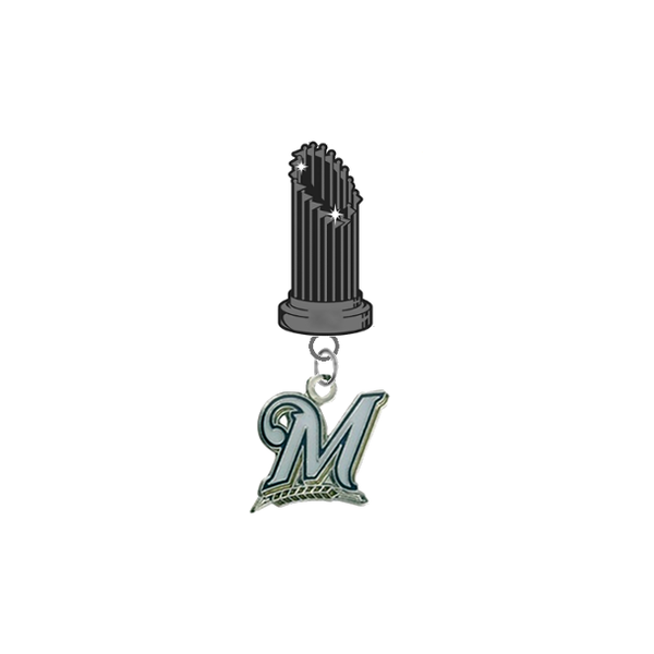 Milwaukee Brewers MLB World Series Trophy Lapel Pin