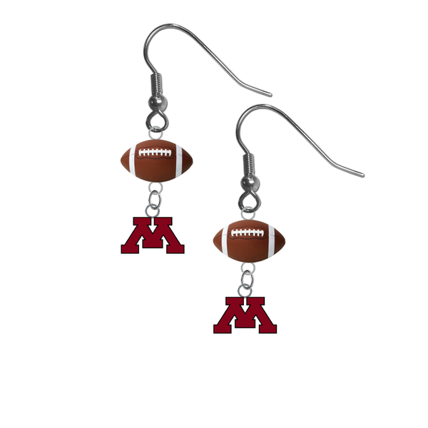 Minnesota Gophers NCAA Football Dangle Earrings