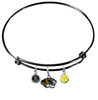 Missouri Tigers BLACK Color Edition Expandable Wire Bangle Charm Bracelet