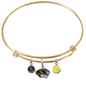 Missouri Tigers GOLD Color Edition Expandable Wire Bangle Charm Bracelet