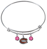 Montreal Canadiens NHL Expandable Wire Bangle Charm Bracelet