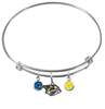 Nashville Predators NHL Expandable Wire Bangle Charm Bracelet