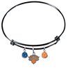 New York Knicks BLACK Color Edition Expandable Wire Bangle Charm Bracelet