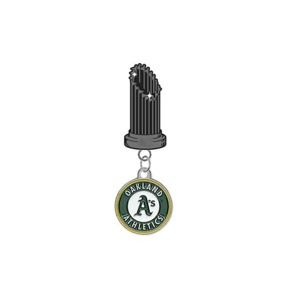 Oakland Athletics MLB World Series Trophy Lapel Pin