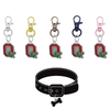 Ohio State Buckeyes 2 NCAA Pet Tag Dog Cat Collar Charm