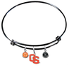 Oregon State Beavers Style 2 BLACK Color Edition Expandable Wire Bangle Charm Bracelet