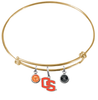 Oregon State Beavers Style 2 GOLD Color Edition Expandable Wire Bangle Charm Bracelet