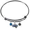 Orlando Magic BLACK Color Edition Expandable Wire Bangle Charm Bracelet