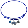 Orlando Magic BLUE Color Edition Expandable Wire Bangle Charm Bracelet