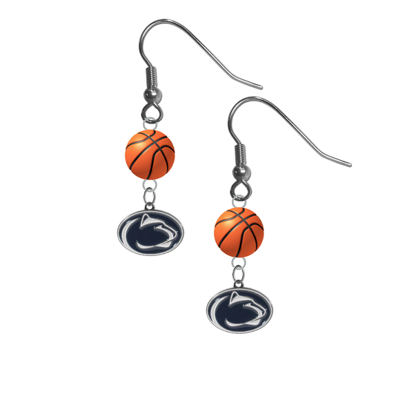 Penn State Nittany Lions NCAA Basketball Dangle Earrings