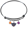 Phoenix Suns BLACK Color Edition Expandable Wire Bangle Charm Bracelet