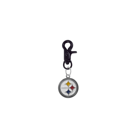 Pittsburgh Steelers NFL COLOR EDITION Black Pet Tag Collar Charm