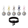 Pittsburgh Steelers NFL Pet Tag Dog Cat Collar Charm