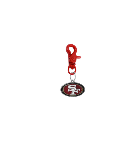 San Francisco 49ers NFL COLOR EDITION Red Pet Tag Collar Charm