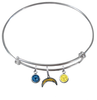 San Diego Chargers NFL Expandable Wire Bangle Charm Bracelet