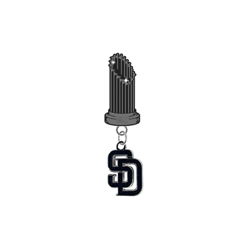 San Diego Padres MLB World Series Trophy Lapel Pin