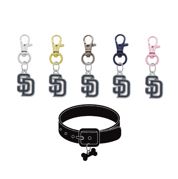 San Diego Padres MLB Pet Tag Dog Cat Collar Charm