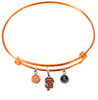 San Francisco Giants Orange MLB Expandable Wire Bangle Charm Bracelet