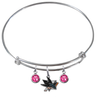 San Jose Sharks NHL Expandable Wire Bangle Charm Bracelet