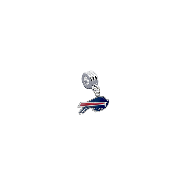 Buffalo Bills NFL Football Universal European Bracelet Charm (Pandora Compatible)