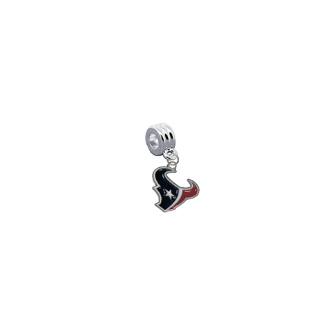 Houston Texans NFL Football Universal European Bracelet Charm (Pandora Compatible)