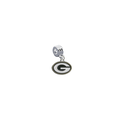 Green Bay Packers NFL Football Universal European Bracelet Charm (Pandora Compatible)