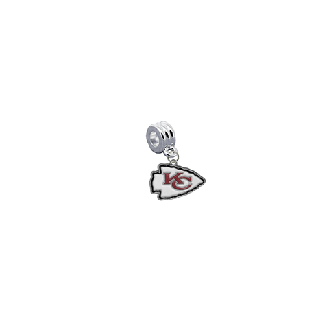 Kansas City Chiefs NFL Football Universal European Bracelet Charm (Pandora Compatible)