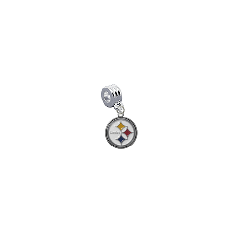 Pittsburgh Steelers NFL Football Universal European Bracelet Charm (Pandora Compatible)