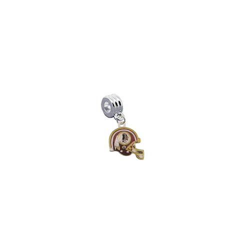 Washington Redskins Helmet NFL Football Universal European Bracelet Charm (Pandora Compatible)