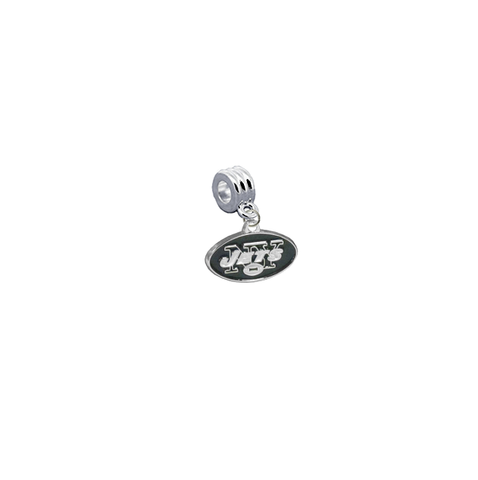 New York Jets NFL Football Universal European Bracelet Charm (Pandora Compatible)