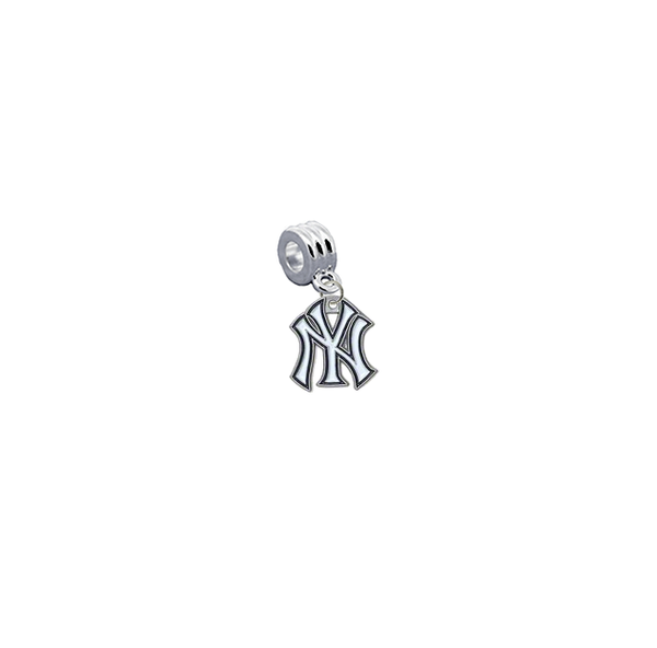 New York Yankees MLB Universal European Bracelet Charm (Pandora Compatible)