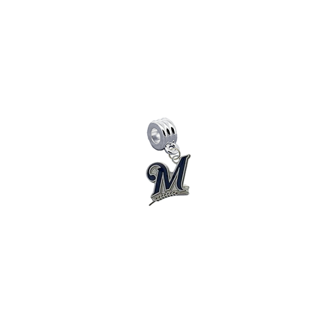 Milwaukee Brewers MLB Universal European Bracelet Charm (Pandora Compatible)