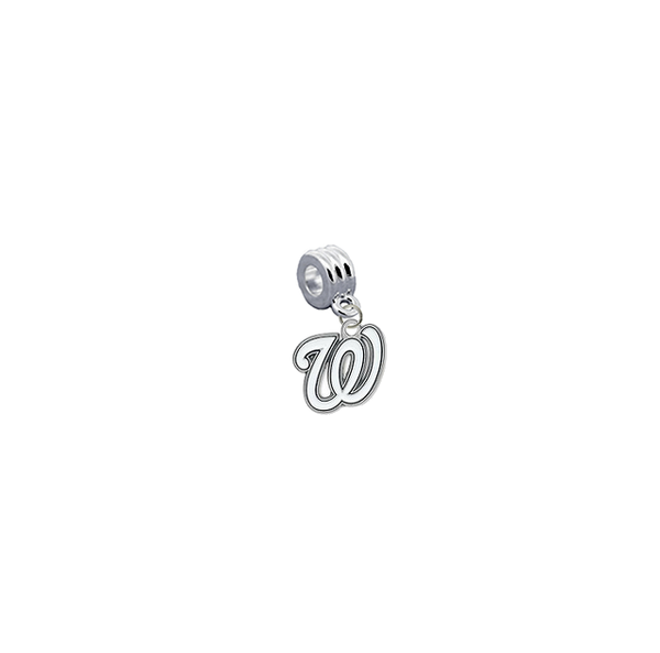 Washingon Nationals MLB Universal European Bracelet Charm (Pandora Compatible)
