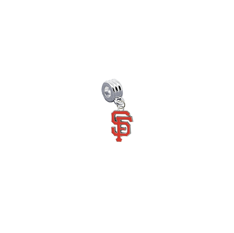 San Francisco Giants MLB Universal European Bracelet Charm (Pandora Compatible)
