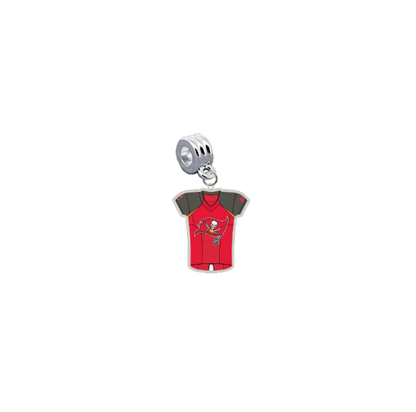 Tampa Bay Buccaneers Game Day Jersey Universal European Bracelet Charm (Pandora Compatible)