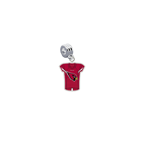 Arizona Cardinals Game Day Jersey Universal European Bracelet Charm (Pandora Compatible)