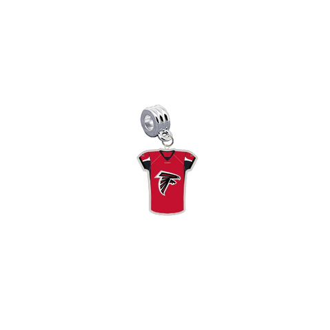 Atlanta Falcons Game Day Jersey Universal European Bracelet Charm (Pandora Compatible)