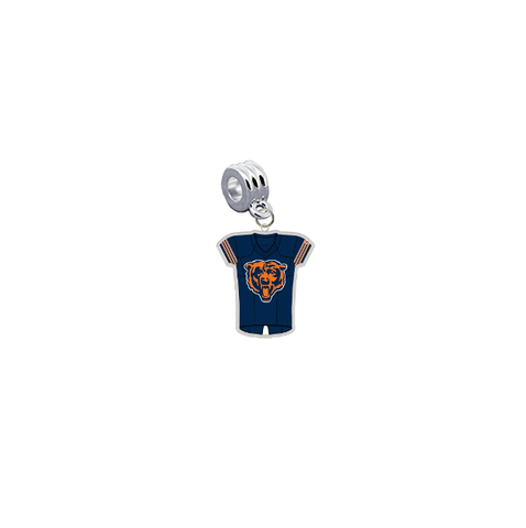 Chicago Bears Game Day Jersey Universal European Bracelet Charm (Pandora Compatible)