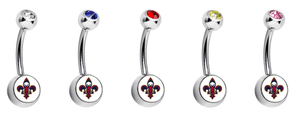 New Orleans Pelicans Swarovski Classic Style 7/16