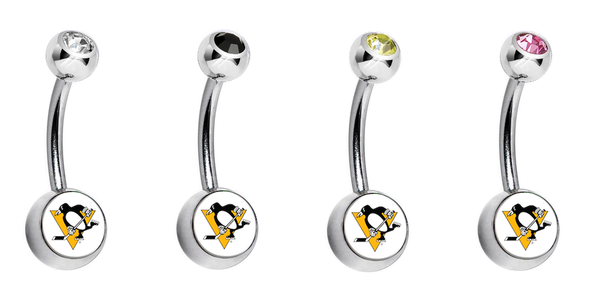 Pittsburgh Penguins Swarovski Classic Style 7/16