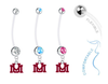Montana Grizzlies Boy/Girl Pregnancy Maternity Belly Button Navel Ring