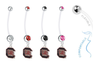 South Carolina Gamecocks Pregnancy Maternity Belly Button Navel Ring - Pick Your Color
