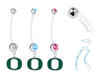 Oregon Ducks Boy/Girl Pregnancy Maternity Belly Button Navel Ring