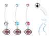 Cincinnati Reds Boy/Girl Pregnancy Maternity Belly Button Navel Ring