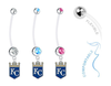 Kansas City Royals Boy/Girl Pregnancy Maternity Belly Button Navel Ring