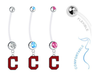 Cleveland Indians C Logo Boy/Girl Pregnancy Maternity Belly Button Navel Ring