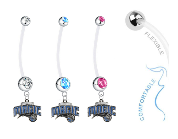 Orlando Magic Boy/Girl Pregnancy Maternity Belly Button Navel Ring