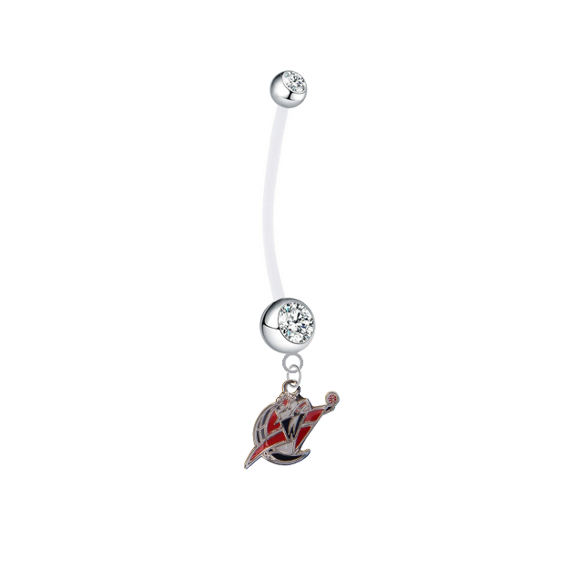 Washington Wizards Boy/Girl Clear Pregnancy Maternity Belly Button Navel Ring