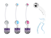 Sacramento Kings Boy/Girl Pregnancy Maternity Belly Button Navel Ring