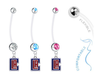 Los Angeles Clippers Style 2 Boy/Girl Pregnancy Maternity Belly Button Navel Ring